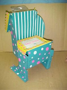 Vtg Doll 1966 Baby's Hungry Feed N' Carry Chair Mattel