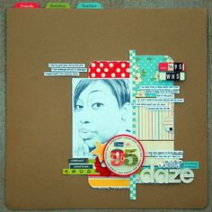 High Skool Days (Scrapbook Trends May Issue) | Flickr : partage de photos !