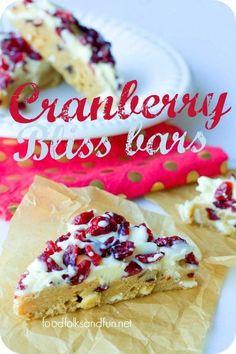Cranberry Bliss Bars - a Starbucks Copy Cat Recipe! Cranberry Bliss Bars - a Starbucks Copy Cat Recipe! Cranberry Bliss Bars - a Starbucks Copy Cat Recipe! Cranberry Bliss Bars - a Starbucks Copy Cat Recipe! Oreo Dessert, Dessert Bars, Mini Desserts, Just Desserts, Awesome Desserts, Fall Desserts, Smores Bar Recipe, Cranberry Bliss Bars Starbucks, Cookie Recipes