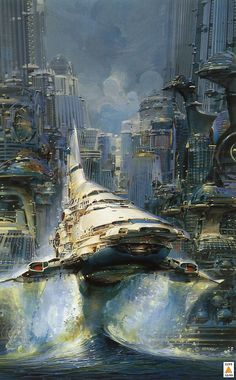 Spaceship Concept  5  (see more on http://www.tranchesdunet.com/illustrations-de-vaisseaux-spatiaux-concept/ )