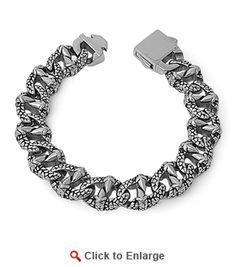 Stainless Steel Reptile #Bracelet * $79.99