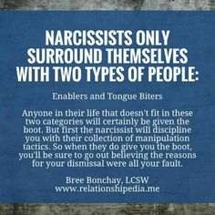 Narcissists are predators