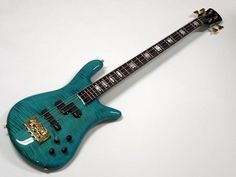 Spector Euro 2 String Bass Guitar in Peacock Blue | Reverb