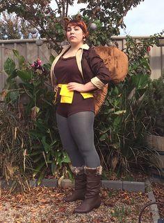Squirrel girl costume tutorial