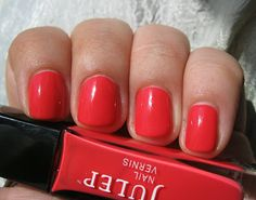 If you don't own this--you should! Julep Mandy, a gorgeous pink coral. Click the link for more Julep swatches