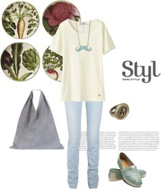 """""""Shop for groceries"""" by shell-syue on Polyvore"""
