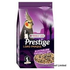 Versele Laga Prestige Australian Parakeet Loro Parque Mix 2 5kg Versele Laga Prestige Australian Parakeet Loro Parque Mix is a mineral enriched seed seed mixture that is suitable for Australian parakeets & other similar birds which desire a high energy diet.