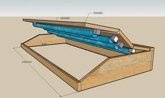 diy aquarium canopy design