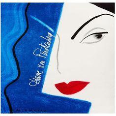 DIANE VON FURSTENBERG Silk Twill Scarf ($228) ❤ liked on Polyvore featuring accessories, scarves, dvf abstract face lapis, diane von furstenberg, diane von furstenberg scarves and lightweight scarves