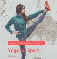 5 Benefits of yoga for sports | Lorraine Gaston Yoga