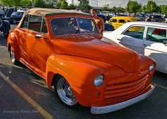 Custom 1947 Ford Convertible