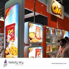 Lina, Gulf food 2015 For more details visit our website : http://beautisky.com/ #ExhibitionStandContractor #StandDesigner