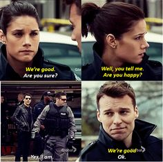 Rookie Blue Season 5 Episode 10 Andy and Nick but she is going back to sam. Yes I'm so happy she finally went back to sam #mcswarek forever
