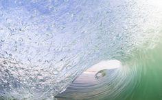Alicante. A big wave