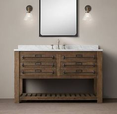 Early C. Mercantile Single Extra-Wide Washstand - would love one that floated. Single Sink Vanity, Vanity Sink, Bath Vanities, Single Vanities, Sinks, Office Bathroom, Bathroom Kids, Master Bathroom, Pool Bathroom