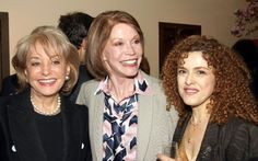Joel Grey, Mary Tyler Moore, Bernadette Peters, Barbara Walters, and Bruce Glikas