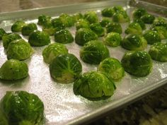 Crispy Roasted Brussels Sprouts Recipe - 2 Points Plus side dish - Serves 2