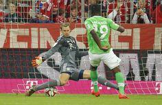 """You shall not pass!"" Bayern vs Wolfsburg 22.08.14"