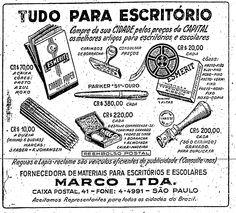 Materiais de escritório   21/5/1950  Estadão