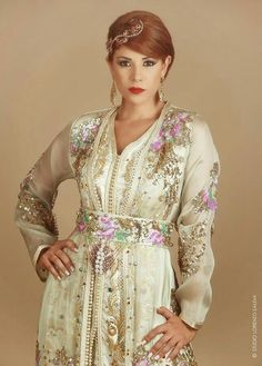leila hadioui ♡  Moroccan caftan and accessories