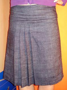 Free Pleated Skirt Pattern