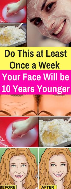 Do This At Least Once A Week & Your Face Will Be 10 Years Younger!!! - All What You Need Is Here