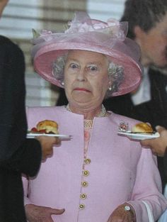 Probably my all time favourite picture of the Queen!