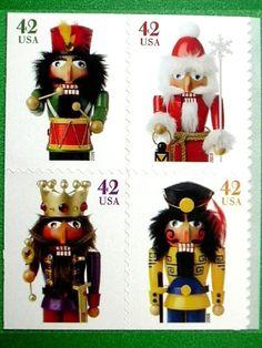 20 Christmas USPS Nutcracker Cards Seasons Greetings Vintage Postage Stamps 2007