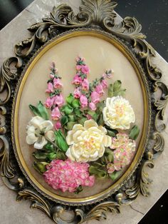 Wonderful Ribbon Embroidery Flowers by Hand Ideas. Enchanting Ribbon Embroidery Flowers by Hand Ideas. Types Of Embroidery, Silk Ribbon Embroidery, Embroidery Stitches, Embroidery Patterns, Hand Embroidery, Ribbon Art, Ribbon Crafts, Ribbon Flower, Uses Of Silk
