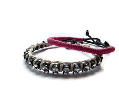 Cord Bracelet Macrame Fall Fashion Gift for Her by BMaja on Etsy, $16.00