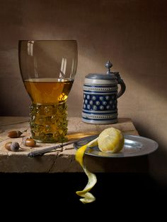"""Part of """"Still Life"""" by Kevin Best: a reinterpretation of the still life paintings of the Dutch Golden Age, in a new medium..."""