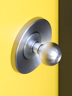 period correct Eichler style door knob and hardware | Mid Century ...