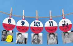 1 - 12 Month Fishing Bobber Photo Banner | The Big One Fishing Birthday | Bobber Milestone banner | Fishing Birthday Decorations | DIGITAL by LuckyDuckPrints on Etsy https://www.etsy.com/listing/539543511/1-12-month-fishing-bobber-photo-banner