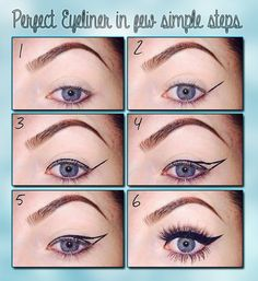 Perfect eyline in few steps