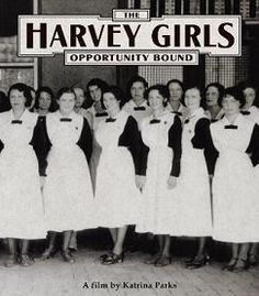 The women who ventured to work in iconic Fred Harvey establishments along the Atchison, Topeka and Santa Fe Railway are getting their due. Victorian Aprons, Harvey House, Harvey Girls, Young Adult Fiction, House Restaurant, Girl Day, How To Level Ground, Single Women, Vintage Advertisements
