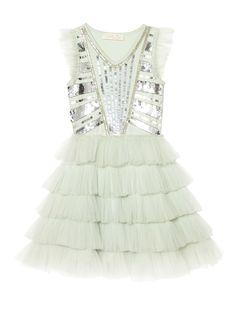 Tutu Du Monde - Dazzle Me Pretty Tutu Dress in Breeze