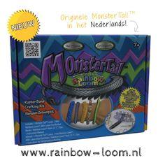 Monster Tail  De Nieuwste Rainbow Loom® Producten! Nu verkrijgbaar op http://www.rainbow-loom.nl  Kijk snel op ➜ http://www.rainbow-loom.nl/rainbowloom/monster-tail-rainbow-loom-kopen/  #RainbowLoom #RainbowLoomMetalenHaak #MonsterTail #RainbowLoomElastiekjes