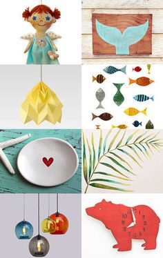 Nice things for a little one... by Marylène Chauveau on Etsy--Pinned with TreasuryPin.com