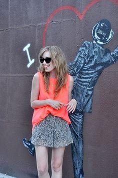 neon + cheetah by reva