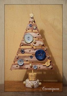 X-mas decoration, Christmas tree, karácsonyi dekoráció, spatula Spatula, Advent Calendar, Holiday Decor, Handmade, Home Decor, Noel, Hand Made, Decoration Home, Room Decor