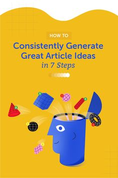 How to Consistently Generate Great Article Ideas in 7 Steps Content Marketing Strategy, Marketing Tools, Article Ideas, Marketing Calendar, Brain Dump, Seo Tools, Articles