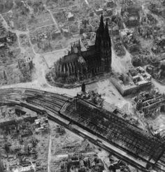 Cologne, Germany, 1945