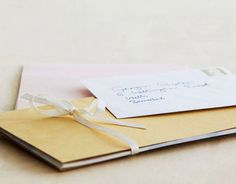 """Send Formal Invitations """"Send out a proper invite. A handwritten one is preferable, but the online versions at PaperlessPost are quite wonderful.""""  —Ken Fulk, designer"""