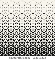 seamless geometric halftone abstract pattern background