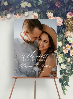 Wedding welcome sign picture template, Photo Welcome Sign, Welcome to wedding signs, Engagement Party, Welcome Sign welcome to our wedding Wooden Wedding Signs, Wedding Signage, Welcome Photos, Welcome To Our Wedding, Sign Templates, Album Design, Engagement Pictures, Party Wedding, Dream Wedding