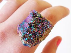 Scilia Rainbow Crystal Ring