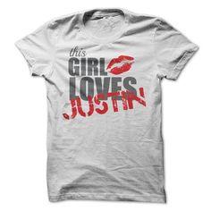 This Girl Loves Justin T-Shirts, Hoodies, Sweatshirts, Tee Shirts (19$ ==► Shopping Now!)