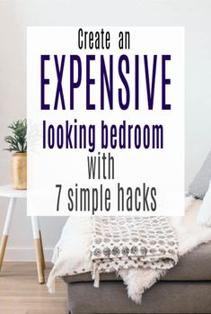 Secrets that will make your bedroom look more expensive and your home luxurious on a budget with these tips for design stying, decor and accessories Improve Yourself, Make It Yourself, Money Hacks, Family Budget, Bedroom Plants, Tiny House Design, Bedroom Inspiration, Ways To Save, How To Fall Asleep