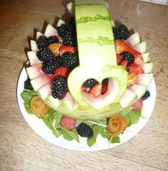 Fall in love with fruit Fruit Salad, Garnishing, Cheese, Dishes, Competition, Fall, Summer, Autumn, Fruit Salads