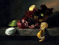 Pinturas hiperrealistas de Alexei Antonov. Naturaleza muerta.
